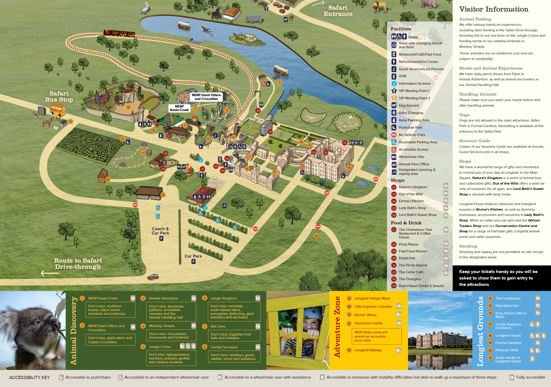 Park Maps | Visitor Info | Longleat