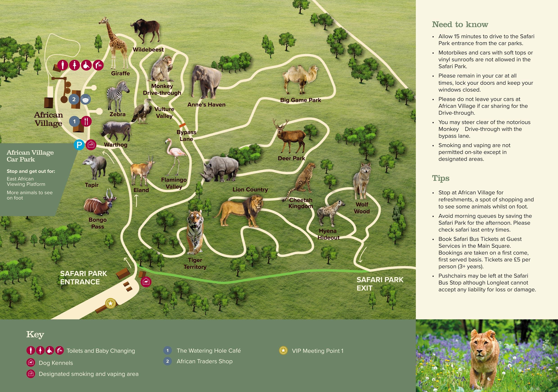 Park Maps Visitor Info Longleat